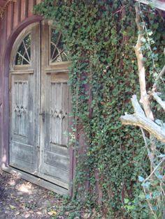 Vintage garage doors/Carriage house