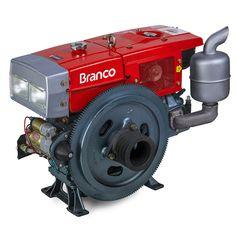 Motor à Diesel Refrigerado à Agua 22 HP | Branco MT BDA 22.0RAE