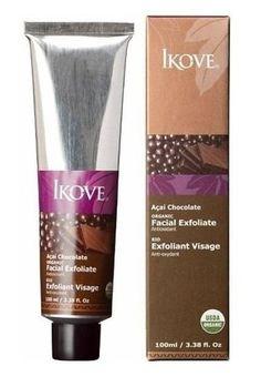 Ikove Esfoliante Facial Açaí e Chocolate 100ml