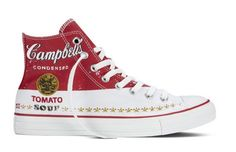 Converse introduces line of #AndyWarhol sneakers.