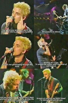 I remember this recorded live show, takes me back, makes my heart swell. #GreenDay