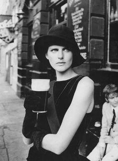Stella Tennant by Peter Lindbergh.