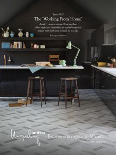 Autumn advertising campaign showing how #everyspaceisdifferent #kitchens…