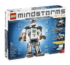 LEGO Mindstorms NXT 2.0 Combining the versatility of the LEGO building system with a microcomputer brick and intuitive programming software, http://www.amazon.com/dp/B001USHRYI/?tag=pinterest0e50-20