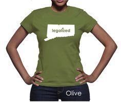 Connecticut Legalized Pot Women's T-Shirt