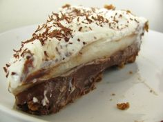 Dark Chocolate Haupia Pie with a Macadamia Nut Oat Crust   Eating richly even when you're broke