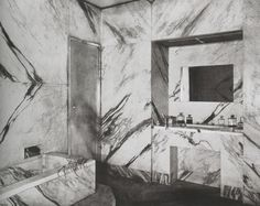 Dream The End Bathroom in Jean-Michel Frank's Apartment, ca 1925, Photo by Man-Ray
