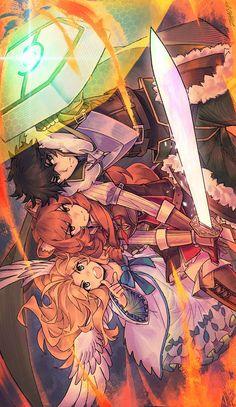 Rising of the Shield Hero Otaku Anime, Manga Anime, Fanarts Anime, Anime Characters, Estilo Anime, Anime People, Manga Games, Kawaii Anime Girl, Sword Art Online