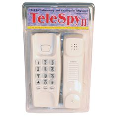 Voice Activated Recorder Spy Phone – Listening Device Security System Featuring a Motion Detector – Burglar Alarm with Infrared Technology that works as a Phone – Spy Gadgets for your Home