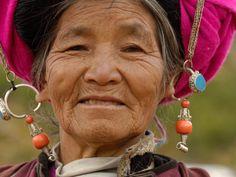 Tibetan Woman with Traditional Jewelry