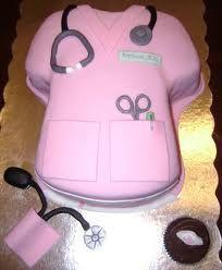 nurse cake. cute!