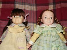 Vintage 1978 Knickerbocker Little House on the Prairie Laura and Carrie Ingalls doll