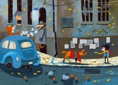 """Secret Dog - p2Illustration for a book """"Secret Dog"""" by Stanislav VostokovCustomer: Clever (2013)"""