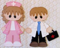Nurse Doctor Paper Piecing Scrapbooking