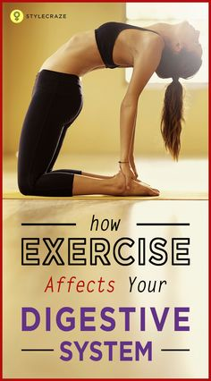 How Does Exercise Affect Your Digestive System? #Exercise
