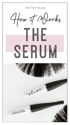 How The Serum Works to Grow your Lashes & Brows – Plume Hair & Lash Science Honey Works, It Works, Aloe Vera Vitamin, Thick Lashes, Bold Brows, Lower Lashes, Hair Lengths, Serum, How To Find Out