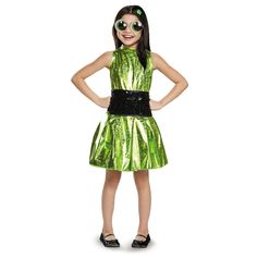 Powerpuff Girls Buttercup Deluxe Child Costume - Halloween - Holiday &…