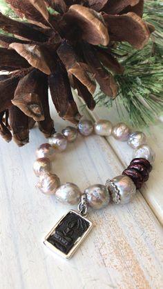 Boho Jewelry, Jewelry Crafts, Jewelry Design, Baroque, Jewerly, Boho Chic, Beaded Bracelets, Pearls, Studio