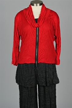 Comfy USA - Mona Top Plus - Red