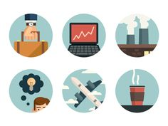 Business Icons by James Cipriano