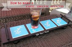 Little Blue's Room: Chic Drink Stand