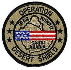 Veteran of Operation Desert Shield  (1990 - 1991)