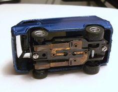 Custom Finished Resin '64 Ford E100 Econoline Van T Jet HO Slot Car | eBay