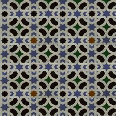 Spanish Tiles fabric by upcyclepatch on Spoonflower - custom fabric