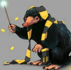 Fantastic Beasts and Where to Find Them Harry Potter Drawings, Harry Potter Room, Harry Potter Tumblr, Cute Fantasy Creatures, Magical Creatures, Hogwarts Library, Sad Comics, Yer A Wizard Harry, Fantastic Beasts And Where