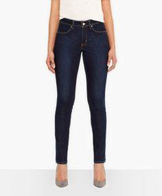 Levi's® Revel™ Bold Curve Skinny Jeans - Pressed Dark - Levi's - levi.com