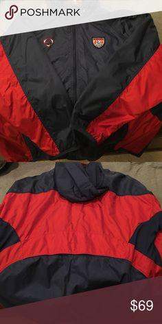Men's Nike large US national team training jacket Men's large Nike US national team training jacket Nike Jackets & Coats Raincoats
