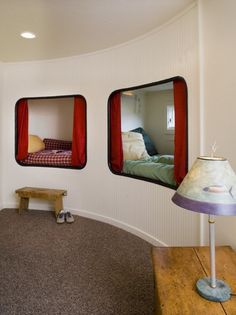 Cubby hole beds. I want one!!!