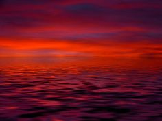 Sonnenaufgang, Wolke, Rot, Orange, Stimmung, Wasser  #manduca #circadelic #orange  http://www.manduca.de/de.limitededition.circadelicsun.html