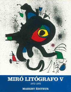 Miro Lithographs: 1972-1975