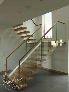 Glass Staircase & Floating Stairs| Glass Stairs, Floating Staircase & Cantilever Stairs - Signature Stairs UK