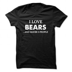 awesome This guy loves his BEARS t shirts Check more at http://cheapnametshirt.com/this-guy-loves-his-bears-t-shirts.html