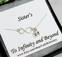 Infinity Bracelet  Sister Bracelet Sterling Silver by LadyKJewelry, $27.85