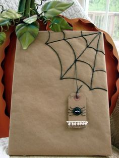 Cute idea for school goodie bags. Can also be good for a spiderman gift, just change the tag.