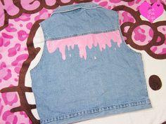 Pink Melty Vest