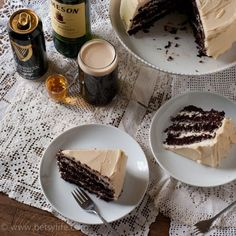 This chocolate stout cake with Bailey's frosting has a boozy whiskey glaze.  Booze and cake is everything that I need right now. The Hubs and I looked ahead at our... Continue Reading »