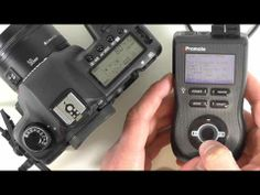 Promote Systems remote controller.  HDR timelapse.