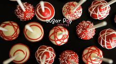 Good morning!!!! Been heaps busy over the weekend but I thought I'll try to sneak some pictures for you today... so here's some very simple cake pops we created for a Rooftop Rodeo Party as organised by Vanilla Bean Events.  Mm.. I'll have to admit, scarlet is still my very favourite colour. (^_^) Hope your day starts out bright and chirpy too!  x Nicole