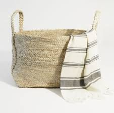 jute crochet basket - Google Search