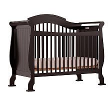 Storkcraft Valentia Fixed Side Convertible Crib - Black. Just purchased online today...cant wait to see it in Jayce's room