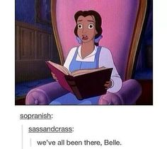 We've all been there Belle.