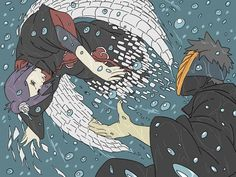 Konan and Obito