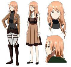 Shingeki no Kyojin OC : Ida Schutzen by 16121.deviantart.com on @DeviantArt