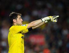Iker Casillas. #Soccer #Futball #Football #RealMadrid