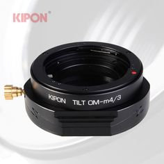 New Version Kipon Tilt Adapter for Olympus OM Lens to Micro Four Thirds M4/3 MFT #Kipon