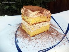 Simona's World: Cream cheese and whipped cream cake